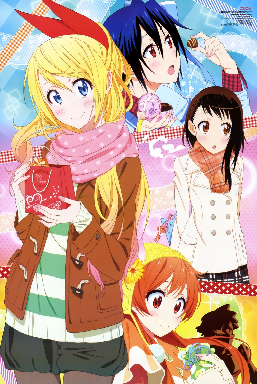 偽戀 Nisekoi - 全7卷+OAD 第01話 (BD 720p AVC AAC).mp4 [encoded by SEED] 內詳~